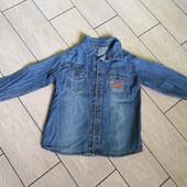 Джинсова рубашка H&M