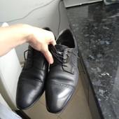 Туфлі шкіряні р43 28см по стільці