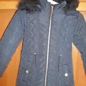 куртка, деми, внутри флис, 7-8 лет 122-128 см. F&F. сост. отличное