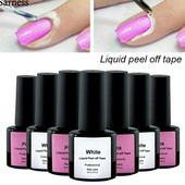 Засіб для захисту кутикули.8ml.Білий або рожевий.