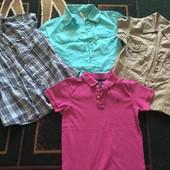 Лето рубашки и поло(H&M,Gloria jeans)