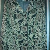 Красивый пиджак с  блестками, ПОГ  57-62 см