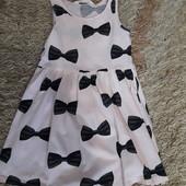 Платье hm. 4-6 лет. Одно на выбор