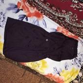 Платье - халат. Цвет баклажан. Мерки в описании. Хлопок