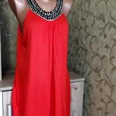Красивое платье размер 20/48 100% вискоза