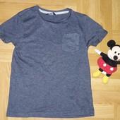 Стоп. Классная футболка от George 7-8 лет по бирке. Состояние идеальное!