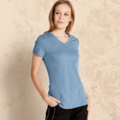 Германия Esmara! Фирменная футболка органический 100% хлопок! L евро 44-46