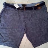 Стильные шорты с плетёным ремнем