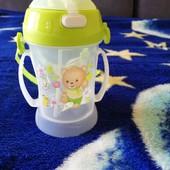 Детская бутылочка, поилка с трубочкой