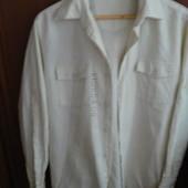 Рубашка льняная в идеальном состоянии