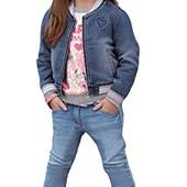 Модные,Стильные джинсы с наклейками Lupilu размер 86