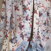 Стильный модный легкий кардиган New Look на красивые формы р 52-56