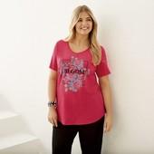 женская удлиненная футболка Esmara размер L