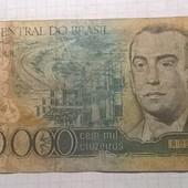 Бона Бразилии 100 000 крузейрос