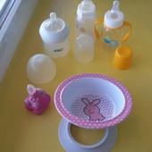 Посуда для ребенка. Состояние отличное.