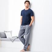 ☘ Мужские брюки для сна и отдыха, органический хлопок, Tchibo(Германия), рр. наш: 60-62 (XХL евро)