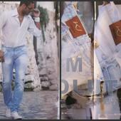Стильные джинсы мужские  Klixs Jeans (Италия) Р. 42 ( наш) Замеры в описании