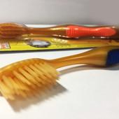 Бамбуковая зубная щетка Nano gold (золото) в индивидуальной упаковке