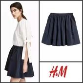 Трикотажная мини-юбка солнце h&m