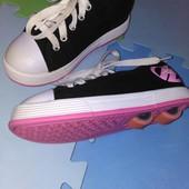 Heelys, знаменитые кросовки-ролики,  us1/ uk13/ 32р