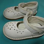 Кожаные сандалики Prenatal 20 разм, 12 см стелька