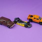 hot wheels , matchbox оригинал  3 машинки