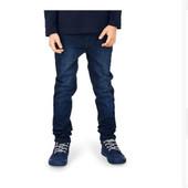 ☘ Стильные джинсы темно-синий деним, органический хлопок, Tchibo(Германия), размеры: 146-152