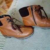 В сезон буде дорожче!!! Зимові черевики. Натуральна шкіра.