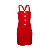 Маленьке червоне плаття Defile Lux