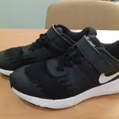 Черные кроссовки Nike, оригинал Вьетнам, разм. 34 (21,5 см по бирке). Сост. очень хорошее!