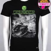 Футболка Valimark(рисунок светится в темноте)World of Tanks