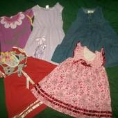 Пять платьев состояние от хорошего до нового 3-4 года на выбор