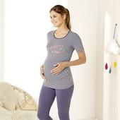 Лот Esmara для будущей мамы - удлиненная футболка и колготки 40 den