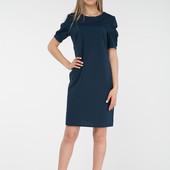 Отличное платье цвет темно синий. Размер Л-ка. R802.  Читайте описание!!!