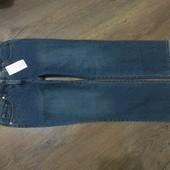Фирменные джинсы со стразами.ПОБ-49-53см.