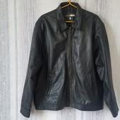 George Кожаная курточка пилот-бомбер. XL  В идеальном состоянии, сток.