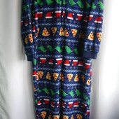 Домашний флисовый костюм-кигуруми George на 13-14лет, рост 158-164, секонд-сток, новый