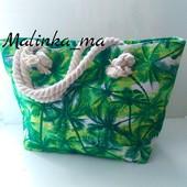 Новые Яркие и стильные летние сумки, одна на выбор! Размер 44х30 см