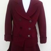 Красивая школьная форма цвет бордо. Sodis. 122-134