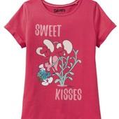 Отличная футболочка для девочки смурфики Smurfs Германия размер 110/116