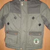 Куртка, деми, внутри шерпа, размер 3-4 года 98-104 см, состояние отличное. TU