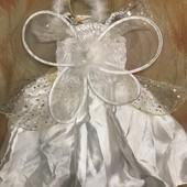 Нарядное платье, фея, ангелок, крылышки