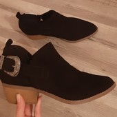 Новые !!! ботинки New Look стелька 26-26.3 см