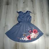 Лёгкое платье H&M,на 6-7лет.В отличном состоянии.