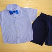 Шикарный нарядный летний комплект мальчику. Турция. р. 1,2 или 3 на выбор