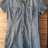 Платье джинсовое летнее. Рр 48-50