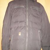 Куртка, деми, внутри флис, р. М,  Maddison. состояние отличное