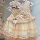 Нарядное платье для девочки. Размеры 2, 3, 4 года