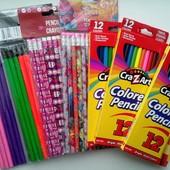 Классный набор:цветные и простые карандаши.