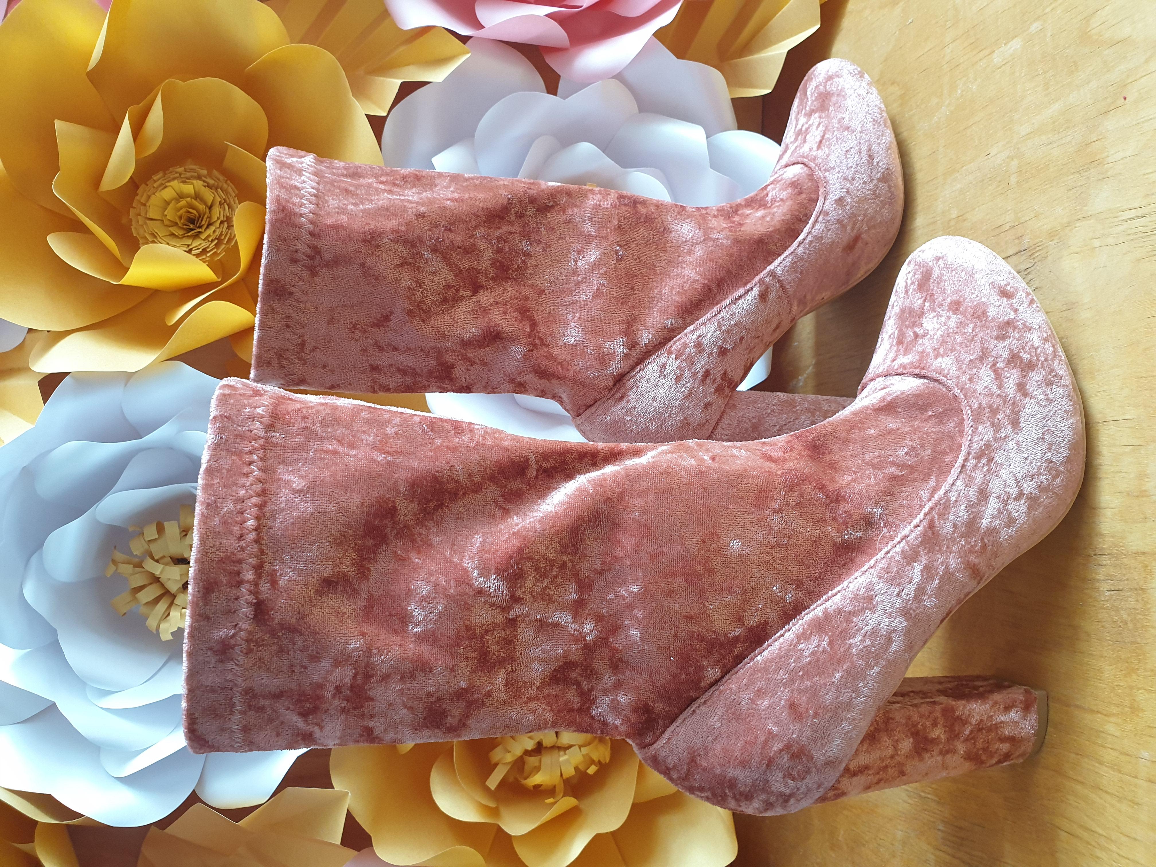 Glamorous Ботинки із велюру 3,5 і 6 рри. - Фото №2